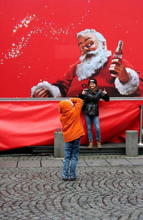 6-Père Noël, Coca-cola, photographe, enfance, Beaubourg_7193