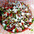 Poulpe a l'apéro ou en salades!