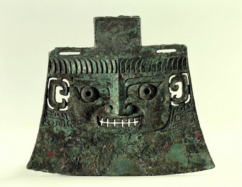 Ceremonial ax, type yue, Shang period, Anyang period, Shang dynasty, 12th-11th Century BC
