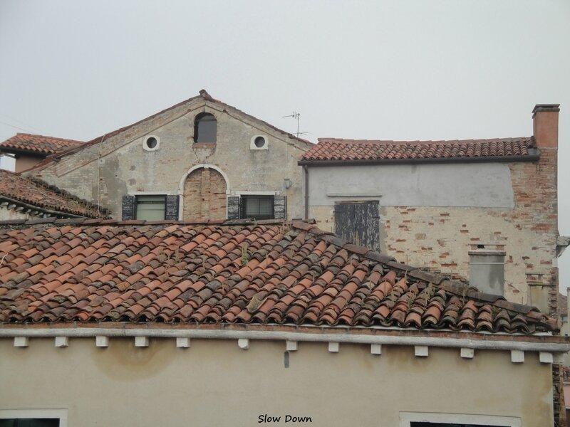Les toits de Venise vue de la maison
