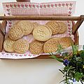 Des biscuits stampin up!