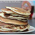 Pancakes au lait ribot et au sirop d'érable