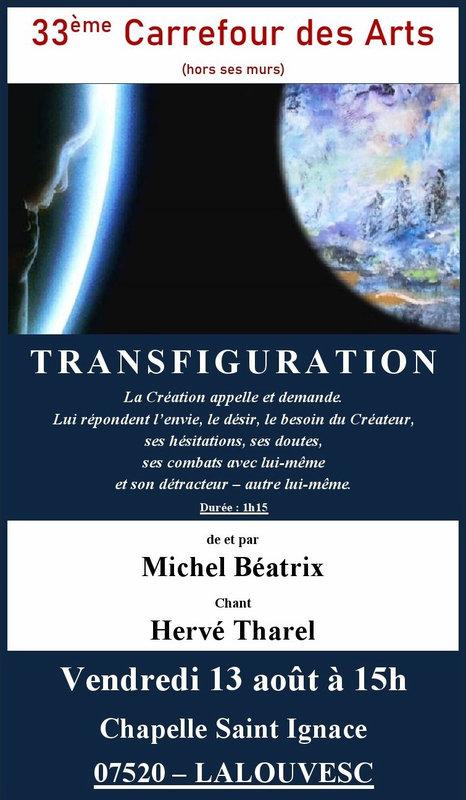TRANSFIGURATION LALOUVESC 2021