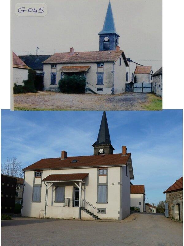 La mairie avant-après