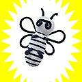 L'abeille d'isa