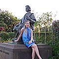 Statue de Christophe Colomb dans le Parc Sta Catarina de Funchal