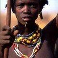 Le peuple Dassanech : Jeune fille