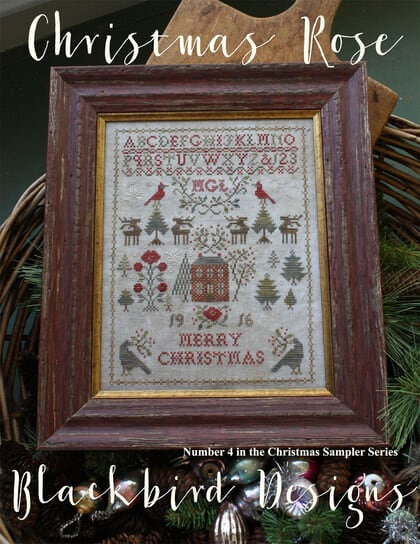 christmas-rose-blackbird-designs