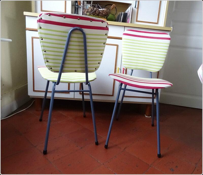 chaise avant-après