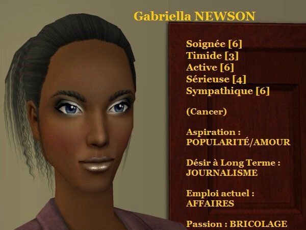 Gabriella NEWSON