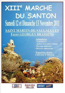 Affiche Santons