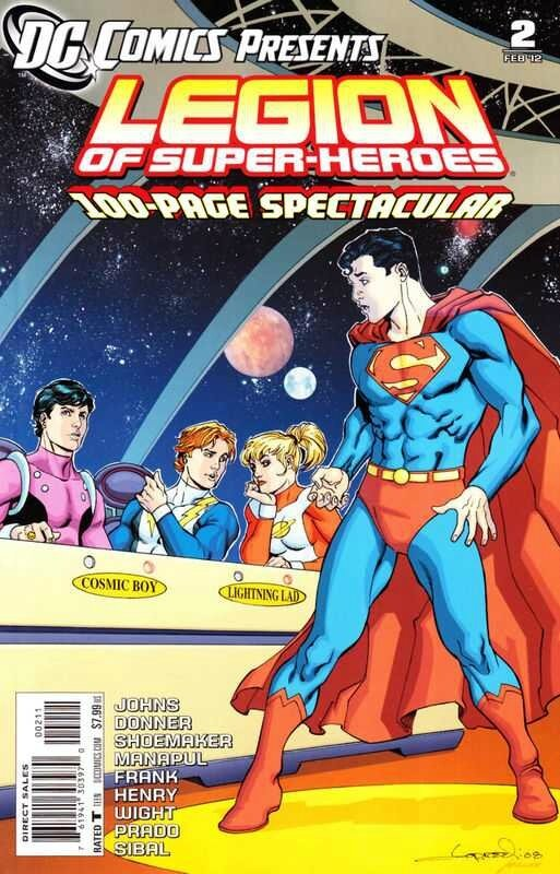 DC comics presents legion of super heroes 02