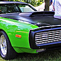 Rock 'n' wheels #4, raismes, a mean green charger machine!