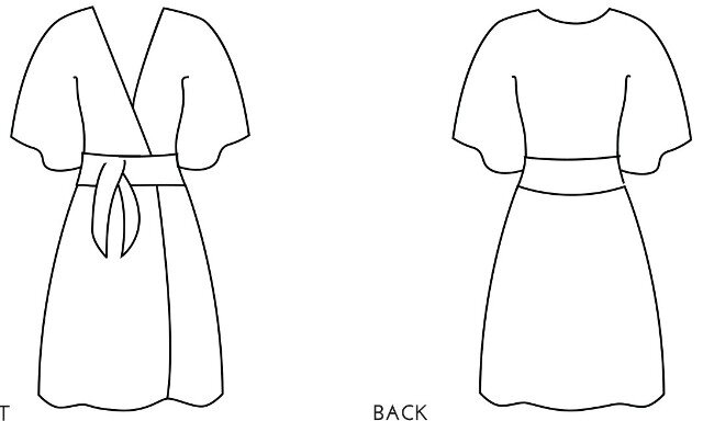 Simple Sew Patterns - Kimono Dress