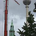 Berlin en grues et chantiers