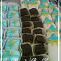 Plateau gâteaux de naissance