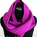 Snood_mitaines violet 8