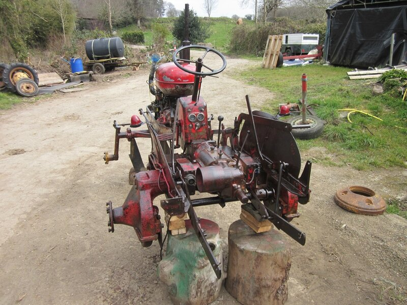 Restauration tracteur PONY