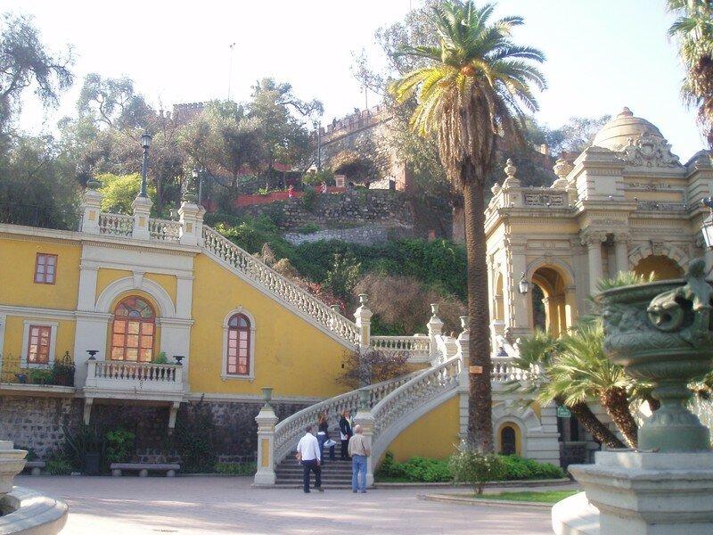 En El Cerro Santa Lucia
