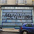 Nevers, rue du 14 juillet, commerce (58)
