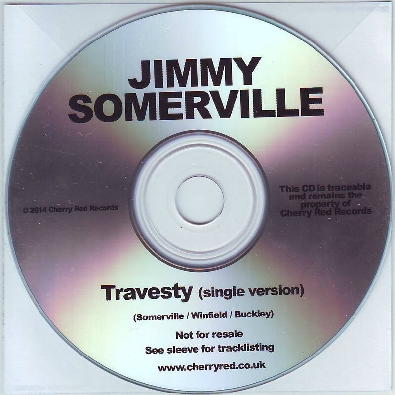 Travesty promo disc