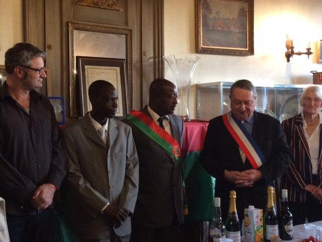 Réception à la Mairie de Forges-les-Eaux