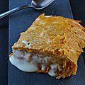 Roule de patate douce à la cancoillote
