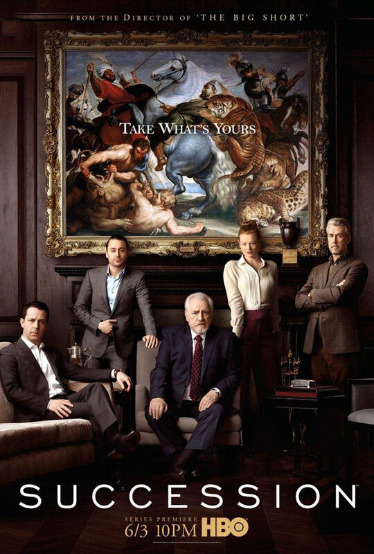 Succession S1 Poster