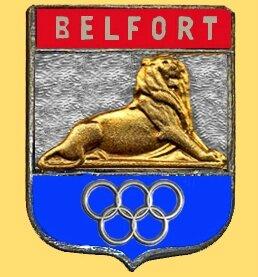 Ecusson Belfort JO V4b