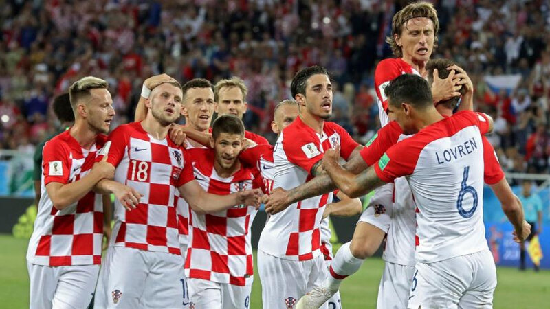 Football Mondial 2018 Croatie