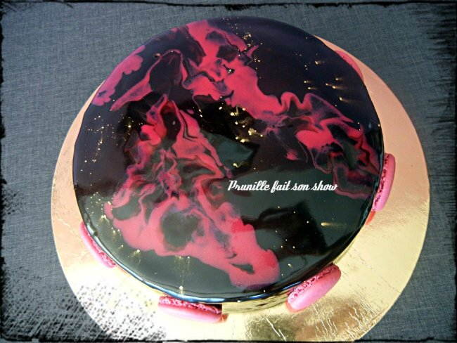 entremet création prunillefee