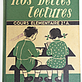 Livre de cours ... nos belles lectures (1950) * nathan