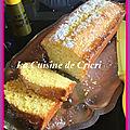 Cake au yaourt et citron