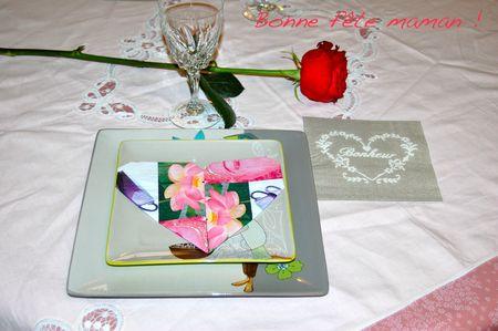 TABLE FÊTE DES MÈRES 0
