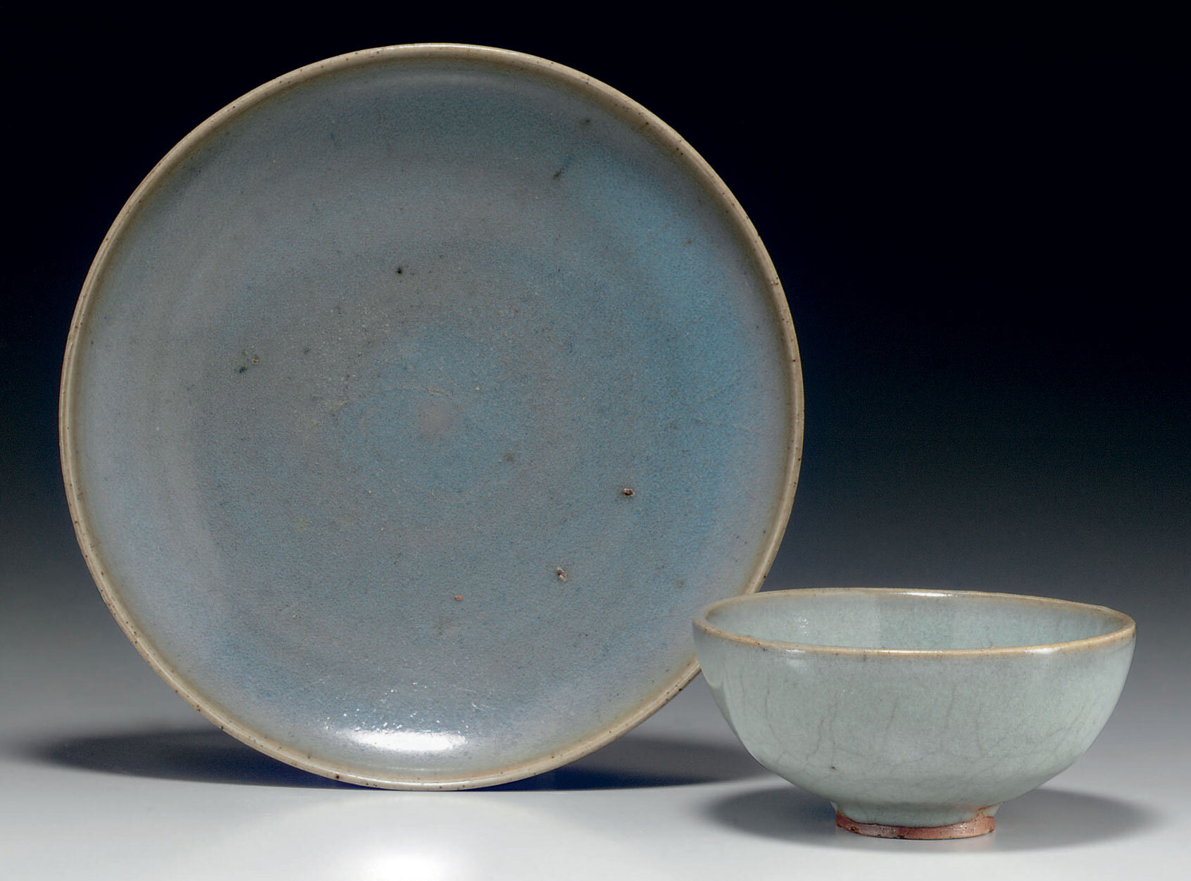 Two Junyao vessels,Song dynasty (960-1279)