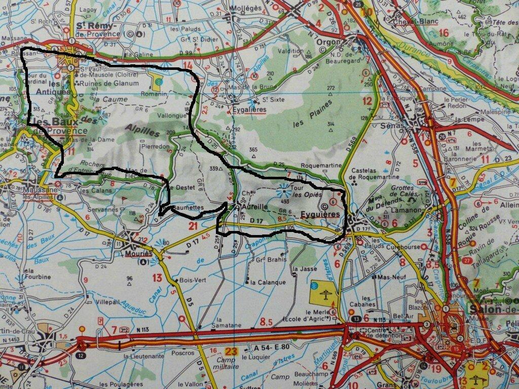 le tour des Alpilles 12-01-2013 (1)