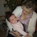 Avec mémé Stacha