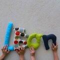 léon 2,mot en tissu,mot decoratif,cadeau de naissance,decoration chambre d'enfant,cadeau personnalise,cadeau original,poc a poc blog