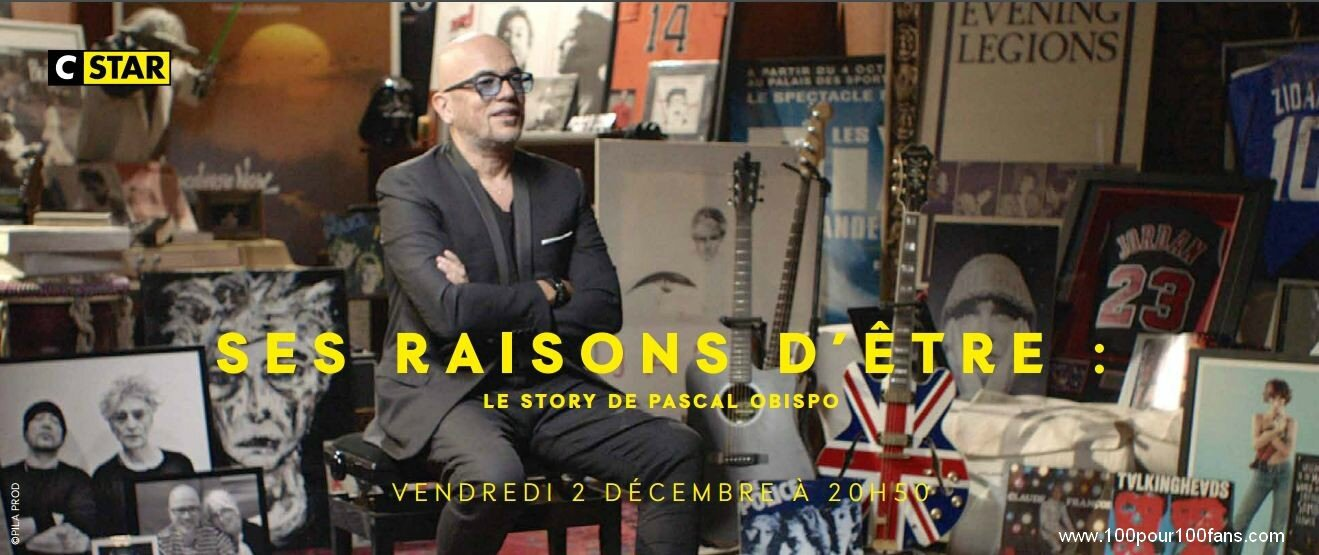 "[REPLAY] Document ""Ses raisons d'être : la story de Pascal Obispo"