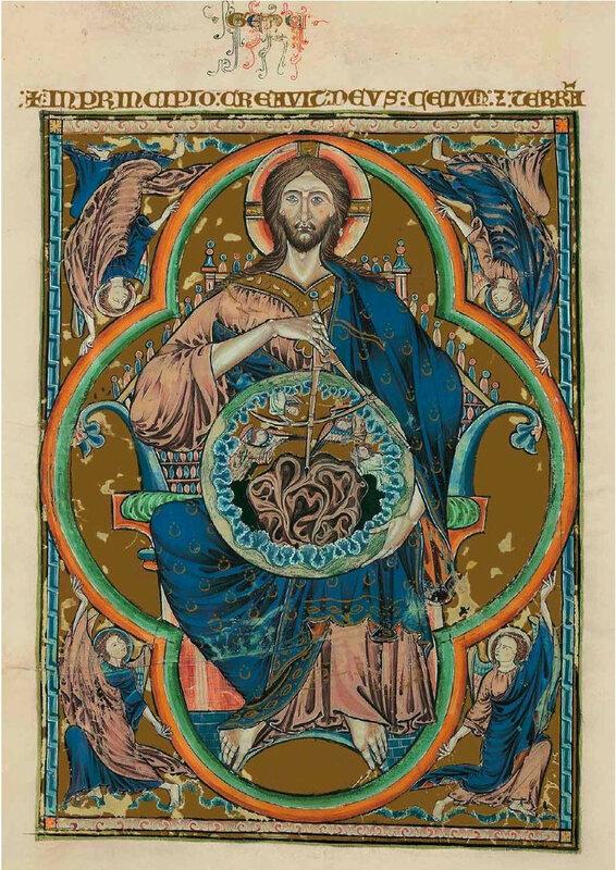 Bible de Tolède, Christ créateur