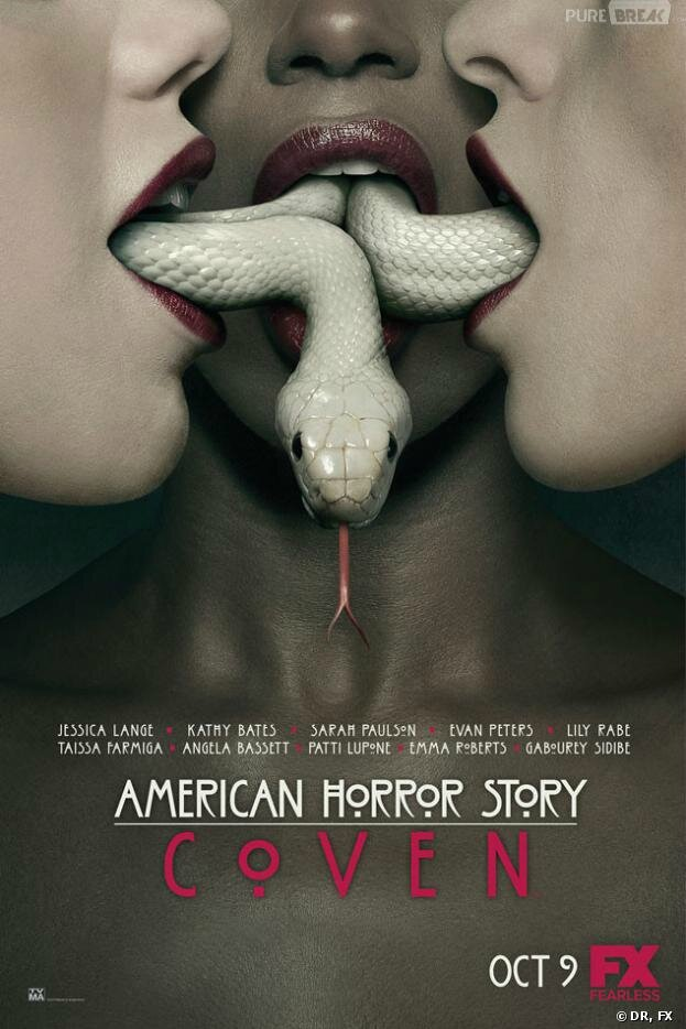 Affiche AMERICAN HORROR STORY : Coven - Saison 3