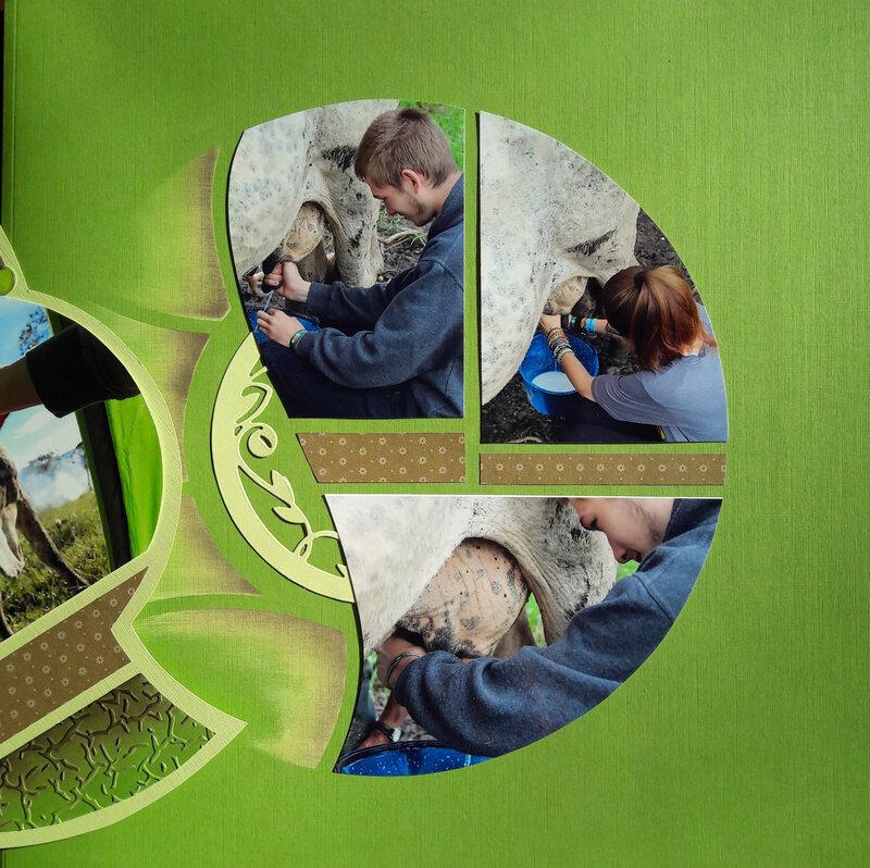 page du fonds sur laquelle vient s'aimanter le feuillet
