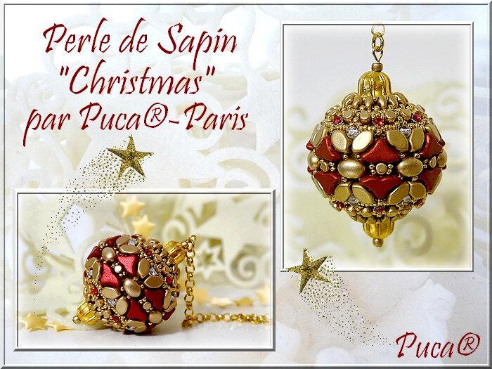 Christmas Red Metallic