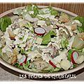 Salade au poulet