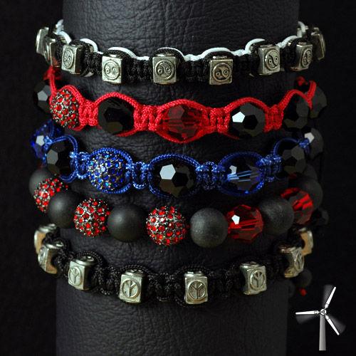 Bracelet de couleur pour homme