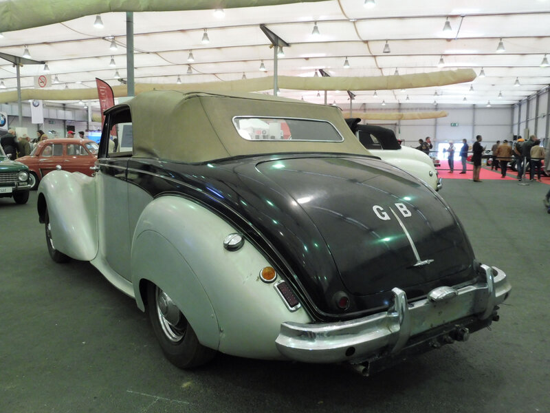 ALVIS TA21 Tickford drophead coupé 1952 Strasbourg (2)