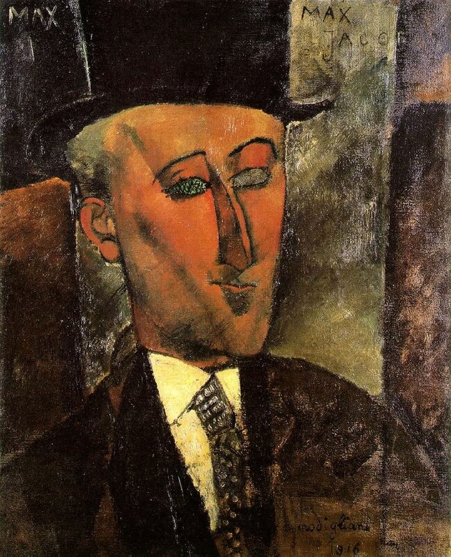 MAX JACOB MODIGLIANI 1916 2