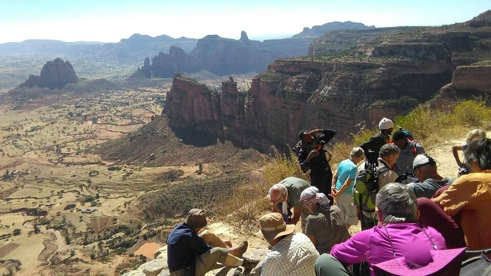 well come to Mariyam korkor rock-hewn church -Ghrealta-ETHIOPIA
