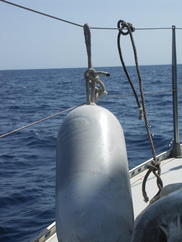 Détail vie de bateau, flotteur
