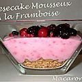 Cheesecake (revisité) aux fruits rouges